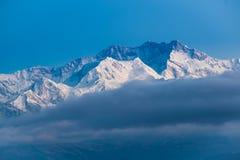 Kangchenjunga góry krajobraz Zdjęcia Stock