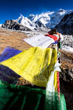 Kangchenjunga mountain, Nepal Royalty Free Stock Photos