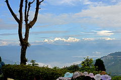 Kangchenjunga mountain Stock Photo
