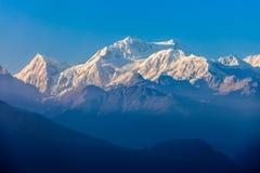 Kangchenjunga mountain view Stock Photos