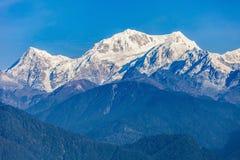 Kangchenjunga mountain view Stock Images