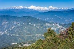 Kangchenjunga view, Gangtok Royalty Free Stock Photo