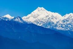 Kangchenjunga view, Gangtok Royalty Free Stock Images
