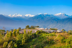 Kangchenjunga viewpoint, Pelling Royalty Free Stock Photography