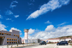 Kangding lotnisko Obrazy Stock