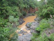 Kanger Fluss velly Strom Stockfoto