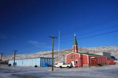 kangerlussuaq Гренландии i церков полуфабрикат Стоковые Фотографии RF
