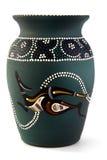 Kangeroo vase. An Australian vase depicting a kangeroo Royalty Free Stock Photo
