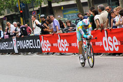 Kangert Tanel at giro d'Italia 2012 Stock Images