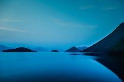 Kangkachan水坝在泰国 图库摄影