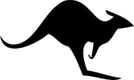Kangoeroe Australië stock illustratie