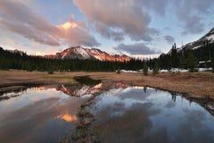 Kangoeroe Ridge Sunset Royalty-vrije Stock Foto's