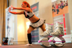 Kangoo jumps Royalty Free Stock Photography