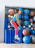 Kangoo Skacze Antej spoważnienie sprawności fizycznej butów dziewczyny Obrazy Royalty Free