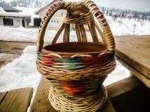 Kangri de pot du feu au Cachemire Photographie stock