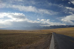 Kangrinboqe en Tíbet Fotos de archivo