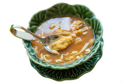 Kangsom. This is local food of southern Thailand. You can call Kangsom Stock Image