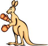 Kangur rękawiczki Zdjęcia Royalty Free