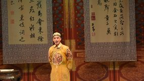 "Kangxi kejsare-Shanxi Operatic""Fu Shan till Beijing† stock video"