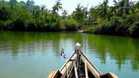 Kangy Rzeczna wycieczka, Chaung Tha, Myanmar zdjęcie wideo