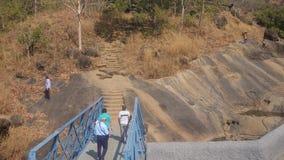 Kanheri洞,孟买 免版税图库摄影