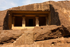 Kanheri Caves. Cell in the rock at Kanheri Caves in Sanjay Ghandi National Park, Mumbai Stock Image