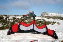 kani śniegu ciężarówka obrazy royalty free