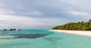 Kani Island Beautiful Island, de Maldiven Jun 2016 Royalty-vrije Stock Afbeelding