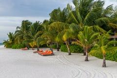 Kani Island Beautiful Island, de Maldiven Jun 2016 Royalty-vrije Stock Foto