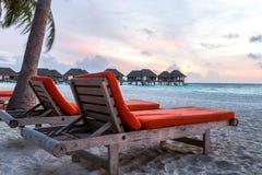 Kani Island Beautiful Island, de Maldiven Jun 2016 Stock Foto