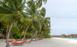 Kani Island Beautiful Island, de Maldiven Jun 2016 Royalty-vrije Stock Foto's