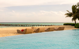 Kani Island Beautiful Island, de Maldiven Jun 2016 Stock Afbeelding