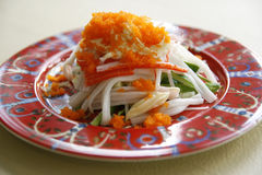 Kani salad, japanese food Stock Photography