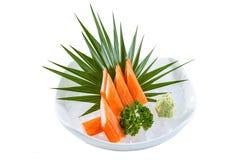 Kani-Sashimi Lizenzfreies Stockfoto