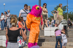 Kania festiwal w St Petersburg Zdjęcia Stock