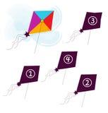 kania latający kształt Zdjęcie Royalty Free