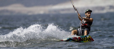 Kania surfingowiec fotografia stock