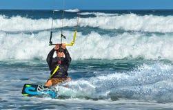 Kania surfingowiec w Australia fotografia royalty free