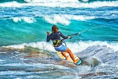 Kania surfingowiec w Australia obraz royalty free