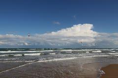 Kania surfingowowie Zdjęcie Royalty Free