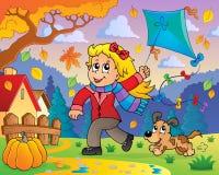 Kania tematu wizerunek 8 royalty ilustracja
