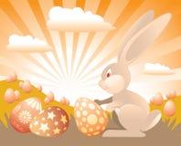 kanin easter Fotografering för Bildbyråer