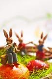 kanin för easter musikspelrum Royaltyfri Bild