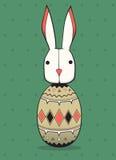 Kanin i äggen Royaltyfria Bilder