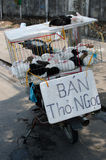 Kanin som säljer i Danang Royaltyfri Foto