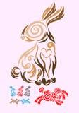 Kaninchen Vektor Abbildung