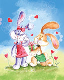 Kaninchen lizenzfreie abbildung