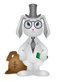 Kaninchen-Banker Stockbilder