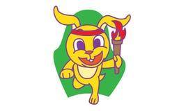 Kaninchen-Betrieb Lizenzfreies Stockfoto