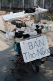 Kaninchen, das in Danang verkauft Lizenzfreies Stockfoto